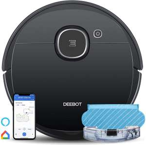ECOVACS OZMO 920 Robot Vacuum + Mop, Laser Map Tech, Virtual Boundary, Alexa & App - £332.98 Sold by ECOVACS and Fulfilled by Amazon Prime