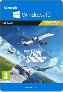 Microsoft Flight Simulator Premium Deluxe Edition   PC Code £93.49 - Amazon Prime