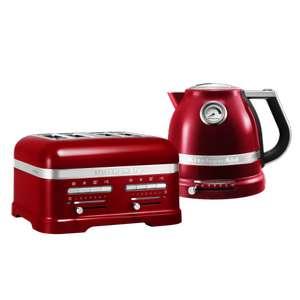 Kitchenaid Artisan 4 Slice Toaster / Kettle Set - £350.40 delivered @ KitchenAid Store