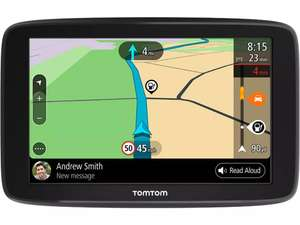 """TomTom GO Basic 5"""" Sat Nav with Lifetime Full Europe Maps £99.99 at Halfords"""