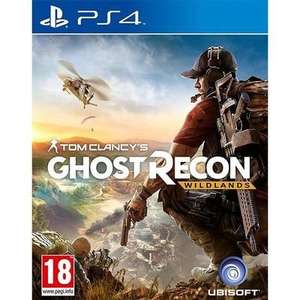 [PS4] Tom Clancy's Ghost Recon: Wildlands (Pre-Owned) - £5.66 with code delivered @ Music Magpie