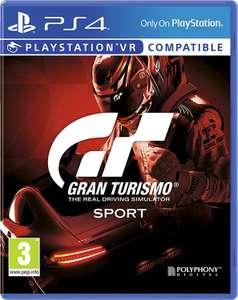 PS4 Gran Turismo Sport £1 at Asda Austell