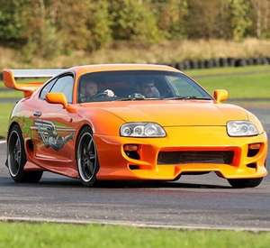 Junior Fast and Furious Toyota Supra Driving Experience for One Now £4 with code, Free delivery via e-voucher - 15 locations @ Buyagift