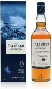 Talisker 10 years old whisky £21 at Iceland Wrexham