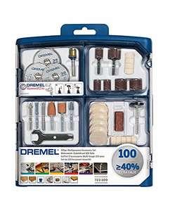 Dremel 723 EZ SpeedClic Multi Purpose Tool Accessory Kit for Rotary Tools 100 pieces £19.72 + £4.49 non Prime @ Amazon