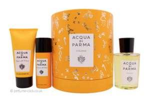 Acqua di Parma Colonia Gift Set 100ml EDC + 75ml Shower Gel + 50ml Deodorant Spray - £60 delivered @ Perfume Click