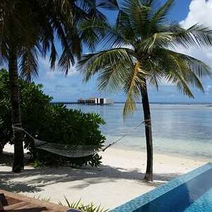 Beach pool villa, HB, The Residence, Maldives, Sep 2021 £417pn - total cost £4174 for two half board including transfers at TravelRepublic