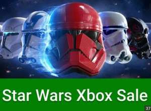 Star Wars Xbox One / 360 Sale @ Microsoft Store UK - Star Wars Squadrons £26.24 Star Wars Battlefront 2 £4.59 + MORE