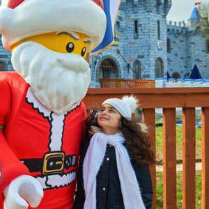 Santa Sleepover - 2 Days Legoland Tkts for 2 Adults & 2 Kids + 1 Night Hotel (4* Holiday Inn) + breakfast + Xmas activities £154 @ Legoland