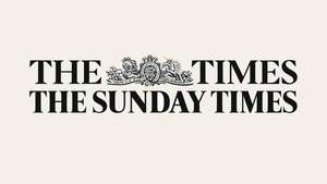 Flash sale: Digital access of The Times news paper - £13 for 6 Months Subscription