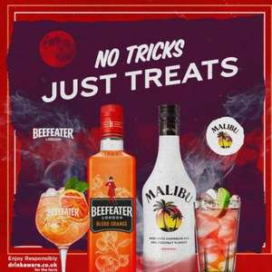 Free Gin or Malibu until 1st November with voucher @ Greene King Pubs