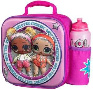 L.O.L Surprise! 3D Lunch Bag with Bottle Bag - L.O.L. Surprise! - £2 @ B&M, Glasgow