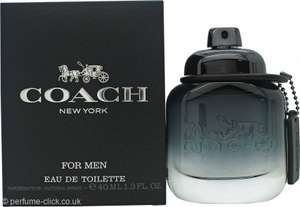 Coach for men 40ml at perfume click - £19.80 + £1.95 Delivery @ Perfume Click