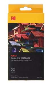 Kodak Mini Printer Standard Tri-Colour Ink Cartridge and 20 Sheets Paper Pack £2.99 delivered @ Argos / ebay