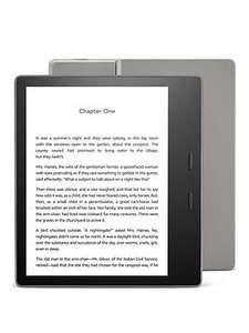 Amazon All-new Kindle Oasis, Adjustable Light, Waterproof, 8GB, Wi-Fi - Graphite - £169.99 @ Very