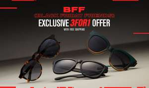 Three pairs of Hakwers Sunglasses and you pay for one with free shipping @ Hawkers