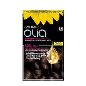 Garnier Olia Permanent Hair Colour £5.25 or £4.49 with S&S (+£4.49 NP) @ Amazon