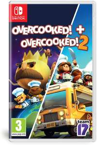 Overcooked! + Overcooked! 2 (Nintendo Switch) - £20.39 delivered @ Base
