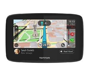 TomTom Car Sat Nav GO 520, 5 Inch with Handsfree Calling, WiFi, Lifetime Traffic, World Maps, Messages, Black, Grey on Sale £129.99 Amazon