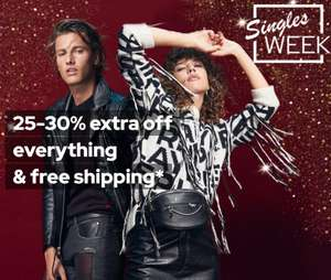 Extra 25% - 30% Off Sale items + Extra 10% Off using code + Free delivery @ Dressforless