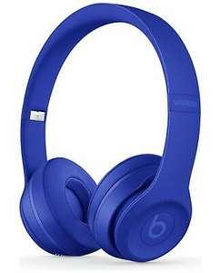 Beats by Dre Solo 3 On-Ear Wireless Bluetooth Headphones - Break Blue - £77.27 delivered using code @ Argos / eBay