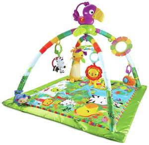 Fisher-Price Rainforest Music & Lights Deluxe Baby Gym for £24.99 delivered @ Amazon