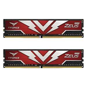 TEAMGROUP T-Force Zeus DDR4 32GB (2 x 16GB) 3000MHz CL16 Memory Kit, £88.49 at Amazon Global store
