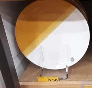 Hand dipped dinner plates / side plates / bowls half price £1.50 @ Morrisons Ellesmere Port