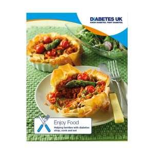 FREE Enjoy Food Guide via Diabetes UK