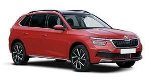 Skoda Kamiq Hatchback 1.0 TSI SE 5dr DSG (Auto) 2 Year Lease (9x23) initial £1486.62 & £165.16 x23 - 8k Miles via What Car? Leasing