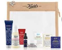 Kiehl's GWP - Receive a Free Skincare Minis Set and Pouch with a £60+ Spend