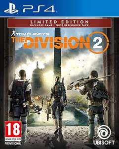 Tom Clancy's The Division 2 Limited Edition (PS4) - £7.99 (+ £2.99 Non Prime) @ Amazon