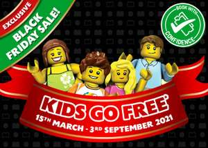 Free entry for kids into Legoland in 2021 when booking a family hotel stay at Holiday Inn (Bath Road) for £135 @ Legoland Holiday