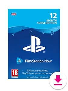 Playstation Now 12 Month - 25% off - Digital Download - £37.49 @ Very
