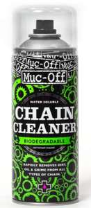 Muc-Off Chain Cleaner, 400 Millilitres - Water-Soluble, Biodegradable Bike Chain Cleaner Spray - £5.94 (+£4.49 Non-Prime) @ Amazon