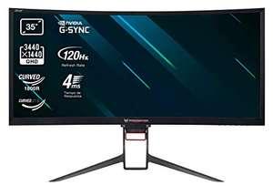 Acer Predator Z35P 35 Inch 120Hz 3440 1440 WQHD G-Sync Monitor - £609.99 @ Amazon