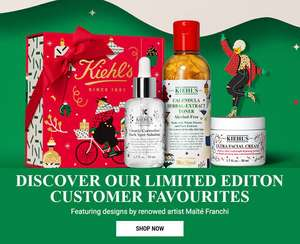 25% Off Sitewide + Free Delivery @ Kiehl's UK (Excluding boxed gift sets)