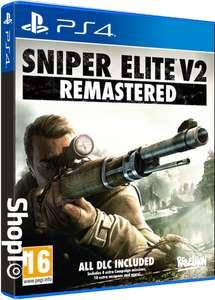 Sniper Elite V2 Remastered (PS4 / Xbox One) £13.85 Delivered @ ShopTo
