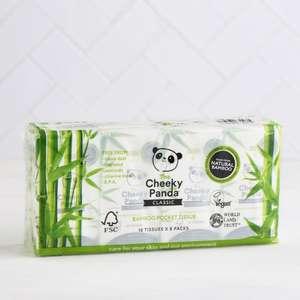 Cheeky Panda Bamboo Pocket Tissues (Free Doorstep Delivery) £1 @ MilkandMore
