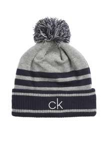 Calvin Klein Fleece Lined Bobble Hat (2 colours) @ County Golf £18.94 delivered