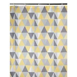 Geometric Print Shower Curtain £1.50 @ George (Asda George) - Free collection
