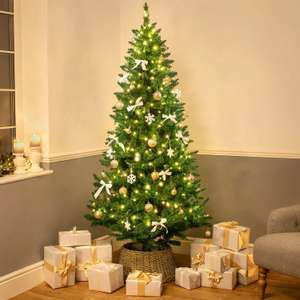 40% off the Luxury Green Spruce Artificial Christmas Tree using voucher code (5ft £11.99 / 6ft £17.99 / £23.99 delivered) @ Christow