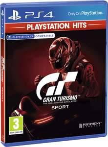 (PS Hits) Gran Turismo Sport £6.99    Uncharted 4   Uncharted Lost Legacy/ Drake £7.99 Delivered    God Of War £7.99 Free Collect @ Currys