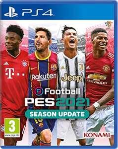 eFootball PES 2021 SEASON UPDATE (PS4) now £14.99 @ Amazon (+£2.99 non-prime)