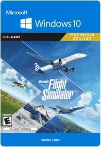 Microsoft Flight Simulator: Premium Deluxe Edition PC Download - £96.85 @ ShopTo