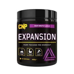 Cnp Expansion - Pump Focused Pre-Workout Code: 450g - 30 Servings £16.79 @ CNP
