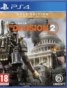 Tom Clancy's The Division 2 Gold Edition PS4 £10 @ Smyths