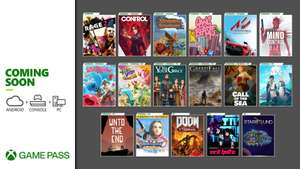 Xbox Game Pass Additions - Rage 2, Control, Dragon Quest XI S, Slime Rancher, Greedfall, Va-11 Hall-A & More (EA Play PC starts 15th Dec.)