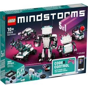 LEGO MINDSTORMS 51515 Robot Inventor 5in1 Remote Control Toy £239.99 at iWoot
