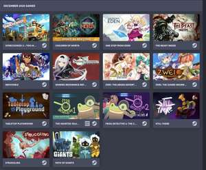 Humble Choice December 2020 : OverCooked 2   Children Of Morta   Eden   Shining Resonance + 1 Month EA Play Pro and more
